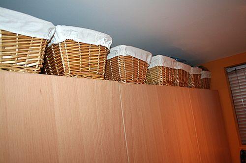 Stamp org wicker baskets