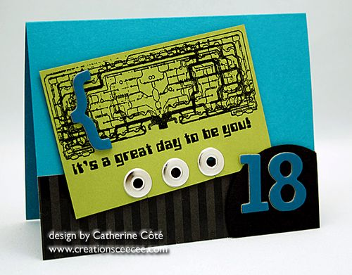 CeeCees Creations masculine birthday card part deux – 18th Birthday Card Ideas