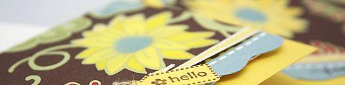 Daffodil delight hello banner