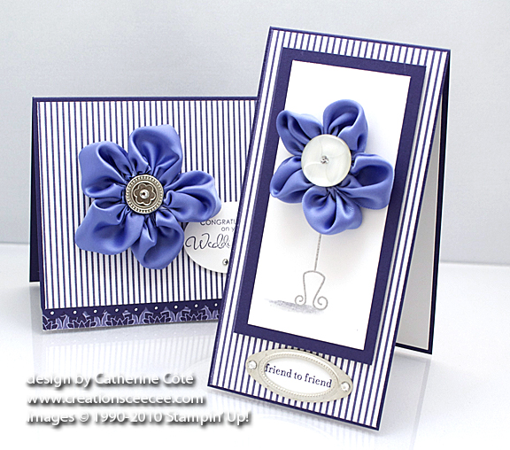 Concord crush ribbon flower card 3b