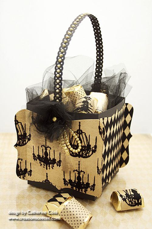 Halloween basket 2