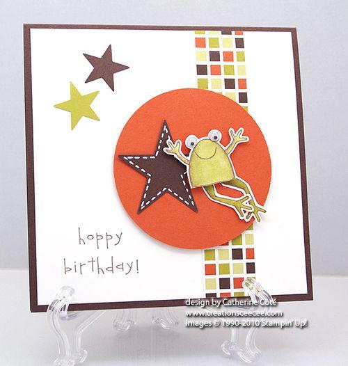 Ceecees Creations Hoppy Birthday A Little Guys Birthday Card