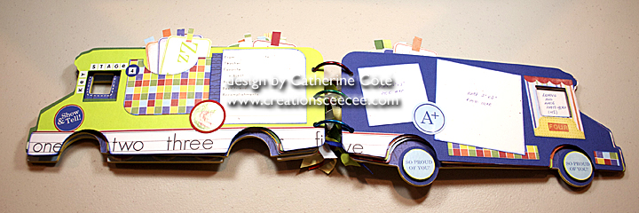 School bus mini album 5