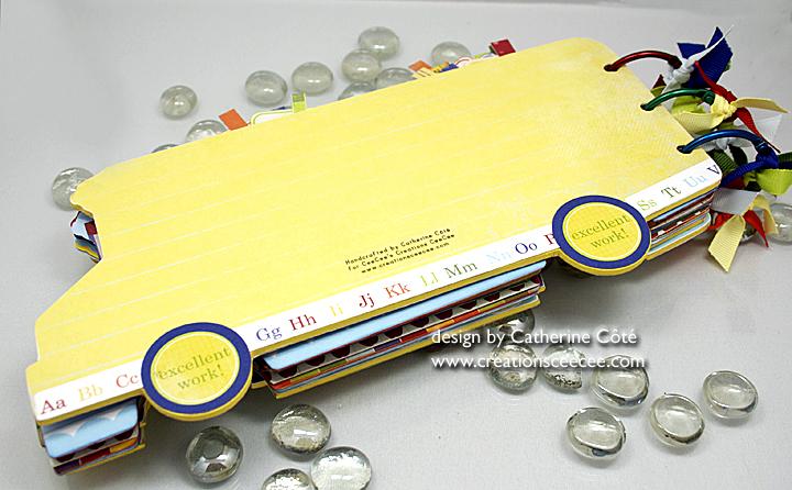 School bus mini album 10