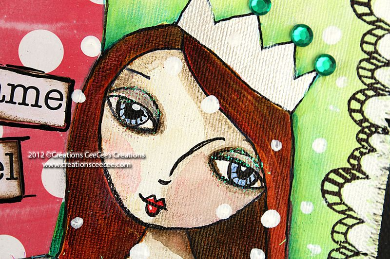 Suzi blue on canvas d