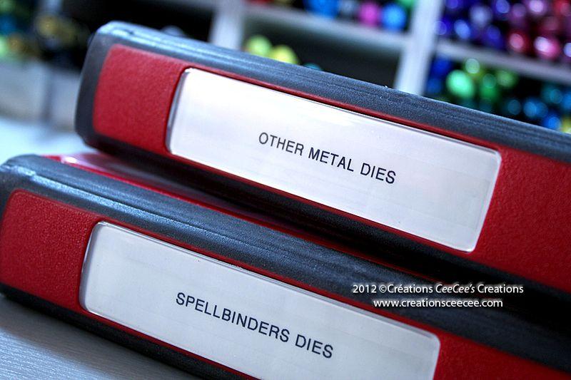Metal dies storage system 2