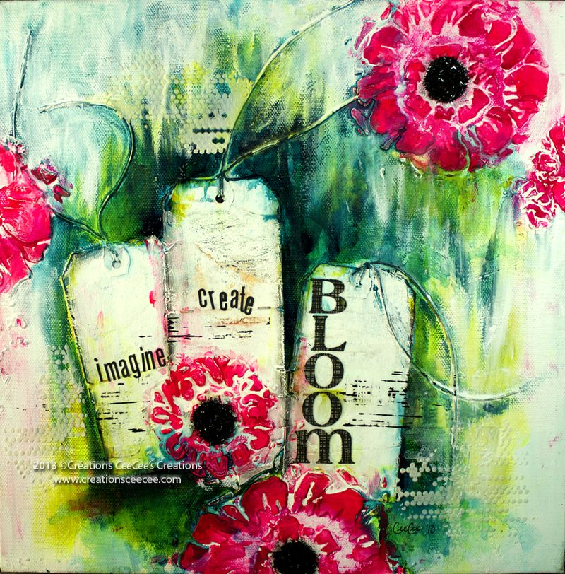 Bloom canvas b