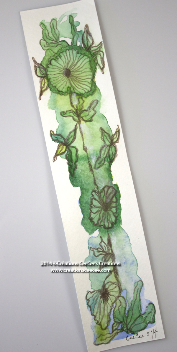 Doodled bookmark b