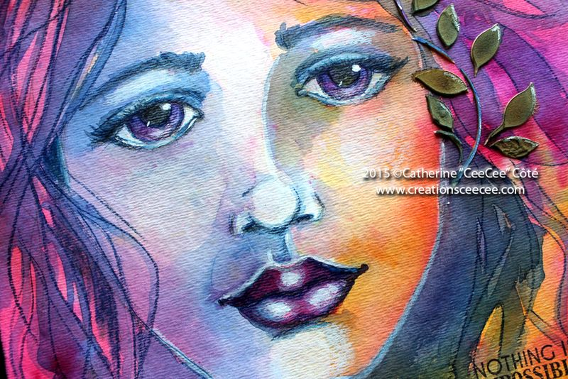 I'm possible watercolor painting f