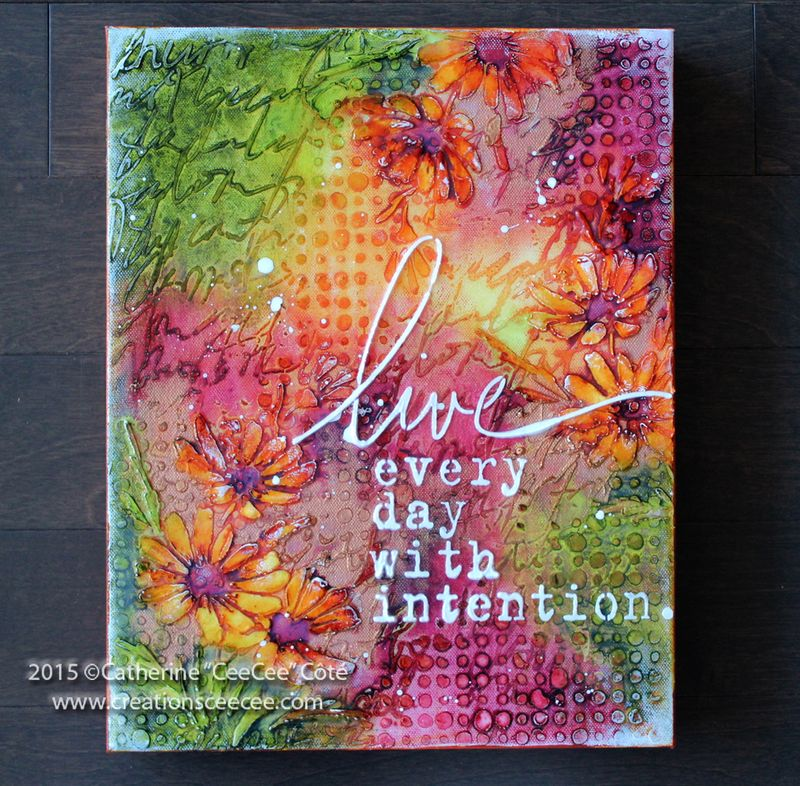 Live with intention b