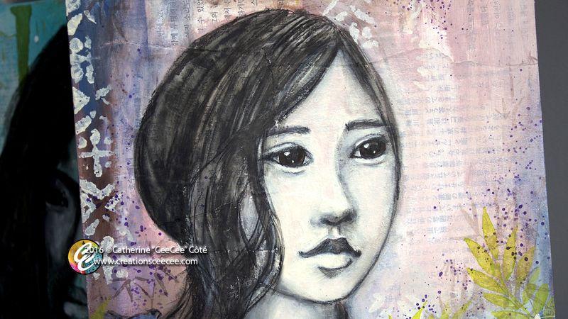 Asian lady 2d