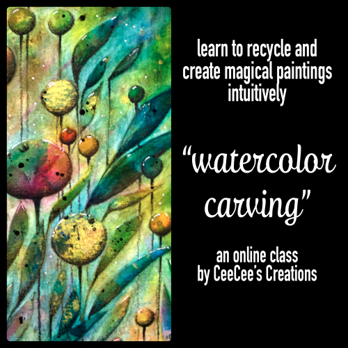 Watercolor carving promo tile 23apr17