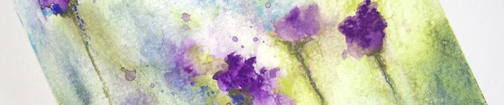 Art process 13jun17 florals with neocolors banner
