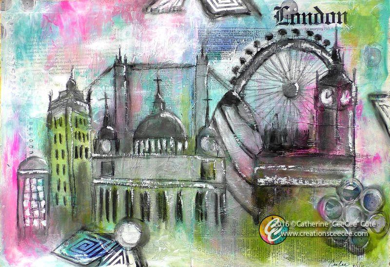 London cityscape b