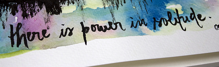 Power in solitude a
