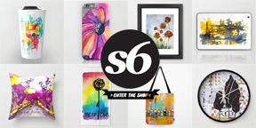 Society6 store typepad image for page