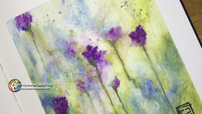 Art process 13jun17 florals with neocolors b